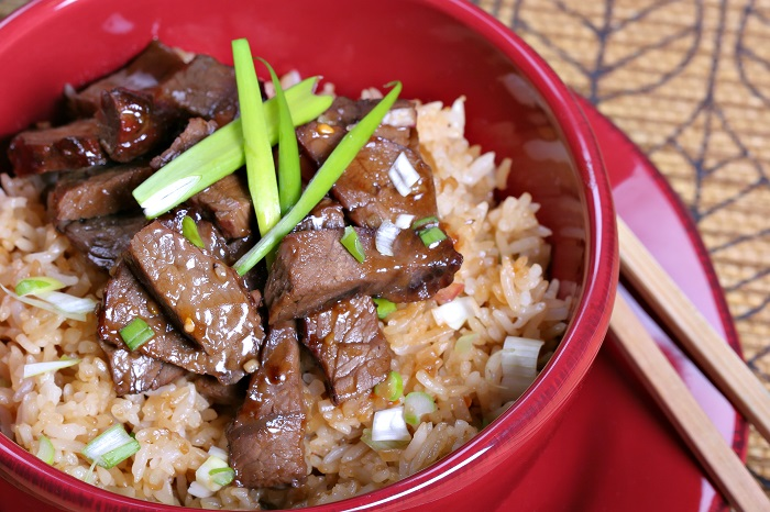 Teriyaki Beef Small